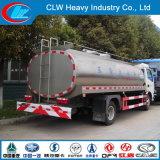 Venta de leche caliente camión cisterna de transporte de leche fresca de leche de tanque de camión tanque