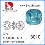 Pedra do cristal da parte traseira do ponto de Aquamarine Dz-3010