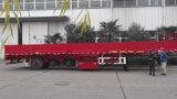 平らなタイプ側面が付いているChhgcの貨物か塀のセミトレーラー