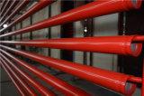 Tubulações pintadas Ral3000 vermelhas do sistema de extinção de incêndios do incêndio da pintura