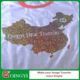 Пленка переноса Hologram качества и цены Qingyi превосходная для одежды