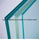 Rimuovere il vetro laminato temperato con i fori