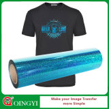 Печатание передачи тепла Hologram Qingyi оптовое для одежды