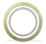 Monel 400 herida espiral junta con el anillo exterior