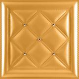 панель стены 1006-16 PU 3D кожаный для самомоднейшего нутряного украшения