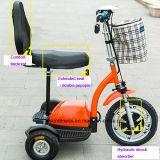 Складывание 3 колеса мобильности инвалидов Scooters Scooters для взрослых