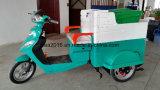 ゴミ収集のための常州の電気三輪車