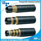Les flexibles hydrauliques sur le fil en acier renforcé