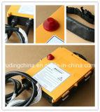 F24-60 Yuding Henan joystick de control remoto inalámbrico para grúas sobre orugas hidráulica