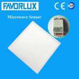 Indicatore luminoso di comitato del sensore LED di a microonde 595*595 40W