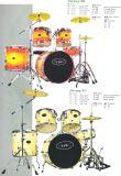 5PCSドラムセット、ドラムキット(JW225-TB、JW225-TC)