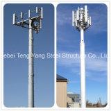 Tube en acier monopole de la communication de la tour de télécommunications de l'antenne