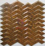 Плитка мозаики меди металла ви-образност для стены только (CFM1085)