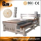 1325 2D e 3D de máquina de gravura de madeira, Router CNC a máquina com o botão rotativo