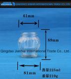 Grosses Bauch-Essiggurke-Flaschenglas-Stau-Glas für Nahrungsmittelspeicher (JH-1261)