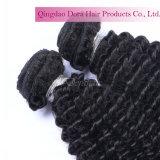 Vente en gros de tissus non transformés Extensions de cheveux Virginie Malaisie Cheveux humains
