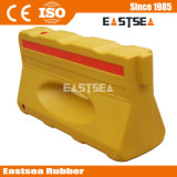 反射赤くか黄色の安全プラスチック道路交通水障壁