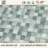 Mosaico di marmo di vetro delle mattonelle della parete della cucina