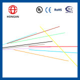 Cabo ao ar livre GYXTW da fibra óptica da única modalidade de 18 núcleos para a aplicação do duto