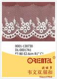 Merletto squisito anelastico Dl-00017A1 di modo