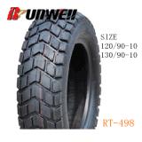 Motorrad-Roller ermüdet 120/90-10 130/90-10