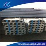 Canaleta em U de aço laminada a alta temperatura da forma do aço estrutural U