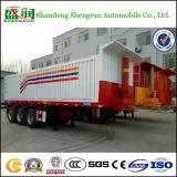 De hydraulische Tippende Aanhangwagen van de Cilinder, 60t de Aanhangwagen van de Vrachtwagen van de Stortplaats van het Eind
