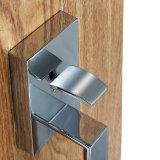 최신 현대 입구 장식판 손잡이 고정되는 자물쇠 아연 합금 문 레버 큰 손잡이 자물쇠