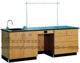 Mobília profissional da tabela do laboratório de ciência ajustada para a sala de aula