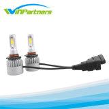 Faro automatico del LED, indicatore luminoso di lampadina del LED, fari H11, H7, 9006, H4 dell'automobile