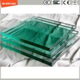 glace Tempered de 4-19mm pour l'hôtel, construction, douche, Chambre verte