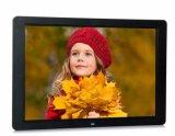 """LED de 15"""" HD de alta resolución de Imagen Digital Photo Frame Anuncio para apoyar la Reproducción automática"""
