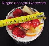 100% 투명한 No-Lead 아이스크림은 유리 그릇 유리 그릇 Sx-007를 두껍게 한다