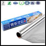 9 Mic papel de aluminio Jumbo Roll cocción de alimentos del papel de aluminio