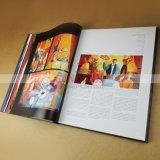 Качество жесткий футляр искусства книги печать Casebound Кофейный книги печать
