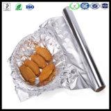 9 Mic-Aluminiumfolie-riesiges Rollenbacken-Papier-Nahrungsmittelaluminiumfolie