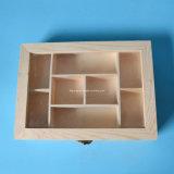 熱い販売の骨董品の明確なWindowsが付いている木の香水ボックス