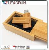 Casella istantanea del disco di chiave di azionamento di memoria del bastone del USB del bambù di legno (YLH201)