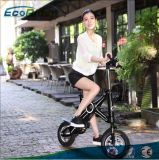 Saleté électrique pliable 36V 350W de vélo de batterie au lithium
