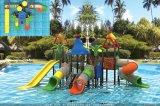 Le stationnement 2017 de l'eau de matériel de parc d'attractions glisse pour des gosses