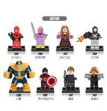 Mini bloc X0113 de jouets de bandes dessinées plus vendues de merveille