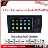 Véhicule androïde Navigtion/acoustique de véhicule/lecteur DVD de véhicule pour Audi A6 S6