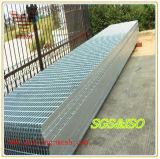 Barra de aço galvanizado médios quente gradeamento para construção