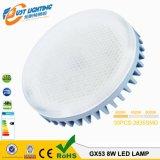 Gx53 Lâmpada LED 7W GX53 Luz de gabinete GX53 Lâmpada LED
