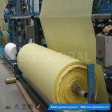 Polypropylene amarelo tela 60GSM tubular tecida