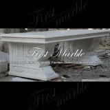 ホーム装飾Mbt344のためのカラーラの白いベンチ