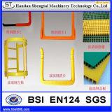 12mm beschichteten haltbare galvanisierte Stahlmetalleinsteigeloch-Jobstepps mit Plastik