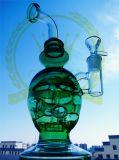 Tubo di acqua di vetro di Headnectar dell'uovo della tabella di Mobius del cranio del riciclatore degli impianti offshore della corona favolosa di Waterpipe