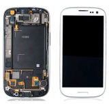 Первоначально экран LCD с рамкой для галактики S3 I9300 I9308 I939 Samsung