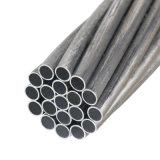 Fio Acs Arame de aço revestido de alumínio para condutores eléctricos